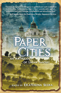 Paper Cities - one of the best anthologies of the year