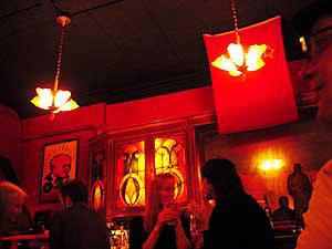 KGB Bar Interior